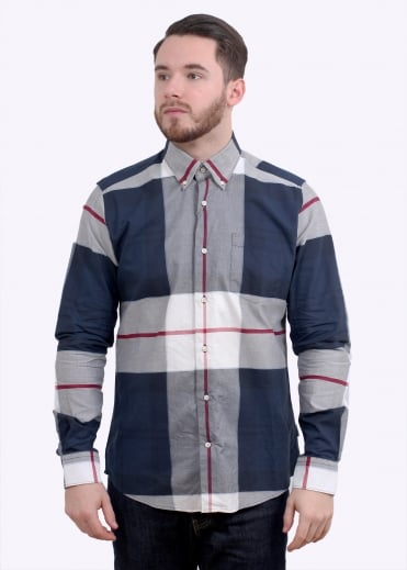Barbour Oscar Shirt - Navy