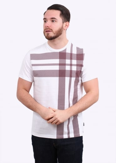 Barbour Bank Tee - White