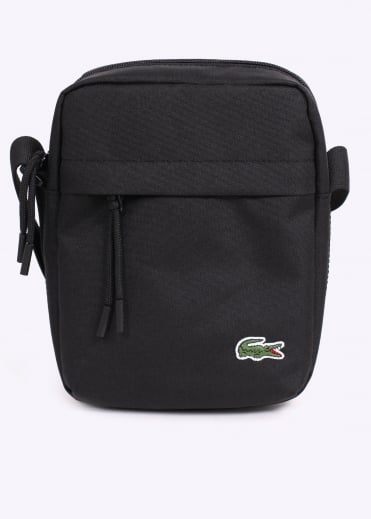 Lacoste Vertical Camera Bag - Black