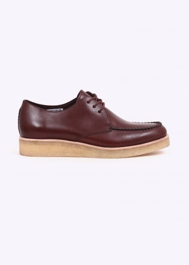 Clarks Originals Burcott Field Leather - Bordeaux