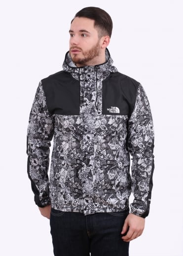 1985 Seasonal Jacket - White Bomb Print