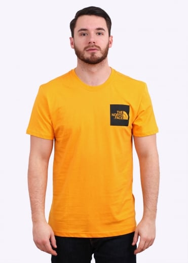 The North Face SS Fine Tee Zinnia - Orange