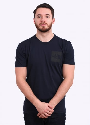 The North Face SS Fine Tee - Urban Navy