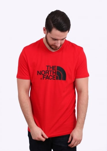 The North Face SS Easy Tee - Red