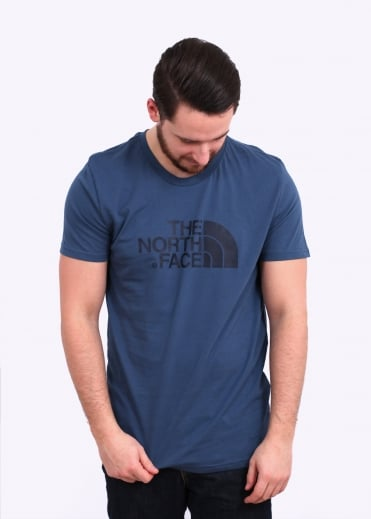 The North Face SS Easy Tee - Shady Blue