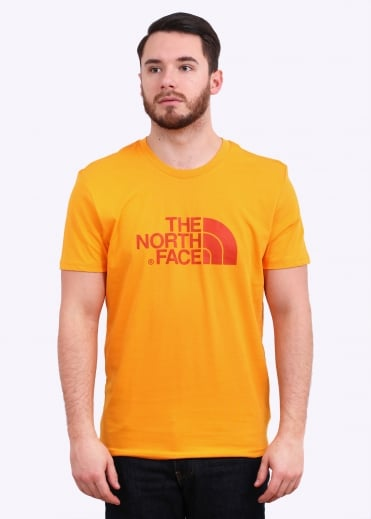 The North Face SS Easy Tee - Zinnia Orange