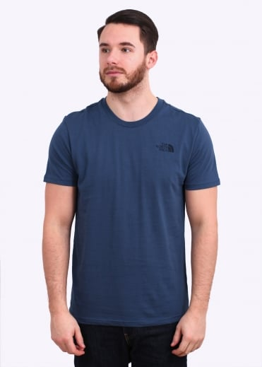 The North Face SS Simple Dome Tee - Red