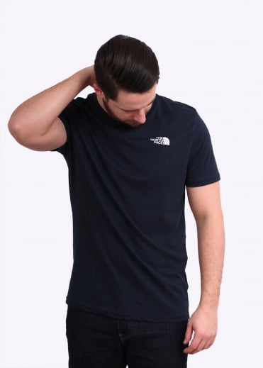 The North Face SS Simple Dome Tee - Urban Navy
