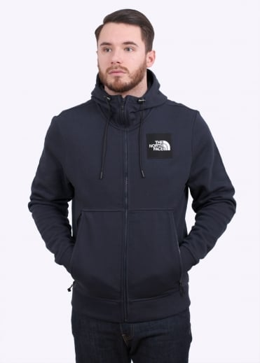 The North Face Fine Fz Hoodie - Urban Navy