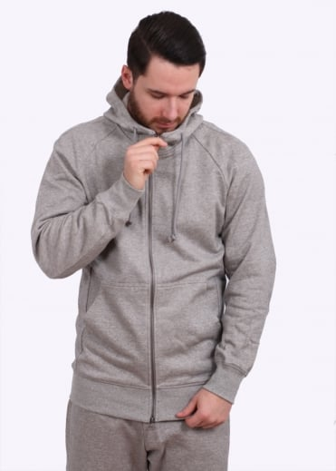 Adidas Originals Apparel X By O Full Zip Hoodie - Grey