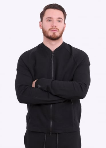 Tech Knit Jacket - Black
