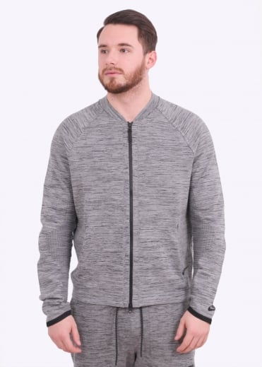 Tech Knit Jacket - Carbon Heather