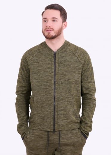 Tech Knit Jacket - Legion Green