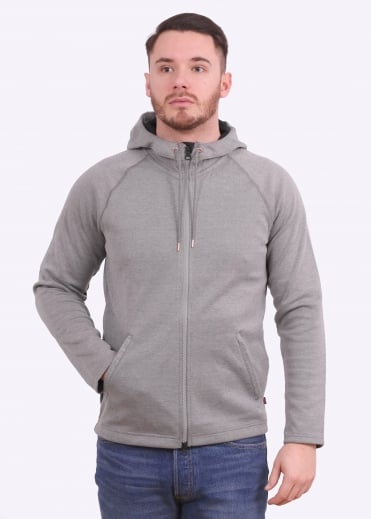Commuter Full Zip Hoodie - Molleton Heather
