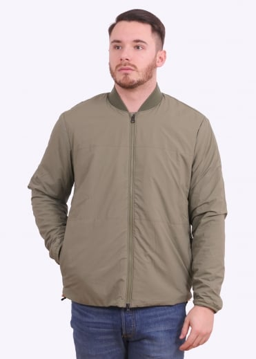 Commuter Packable Bomber - Lichen Green