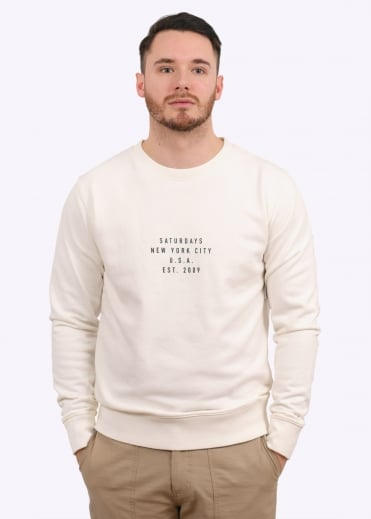 Bowery Established Sweat - Ivory