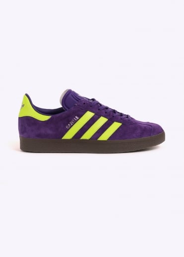 Adidas Originals Footwear Gazelle - Purple/Yellow