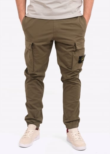Stone Island Cargo Pants - Military Green