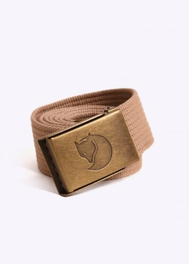 Fjallraven Canvas Brass Belt 4CM - Sand