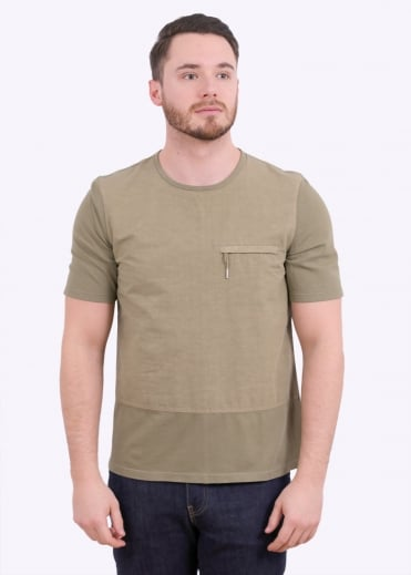 Combination Tee - Military Green