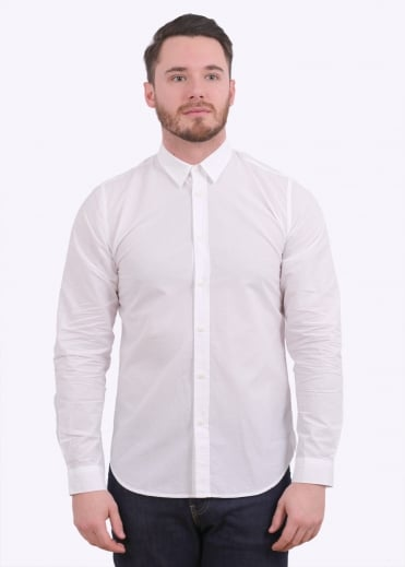 Folk Smart Shirt - White
