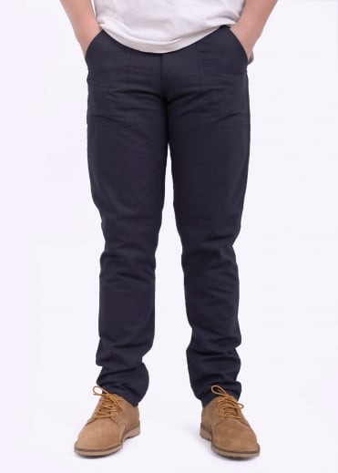 Slim Fit 4 Pocket Fatigue - Navy