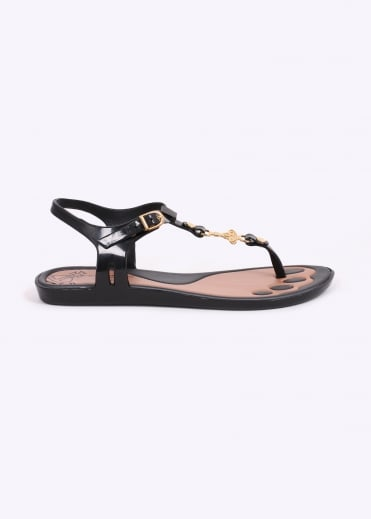 Anglomania x Melissa Solar 17 Orb Shoes - Black