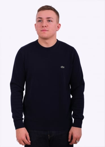Lacoste Crew Sweater - Navy / Blue