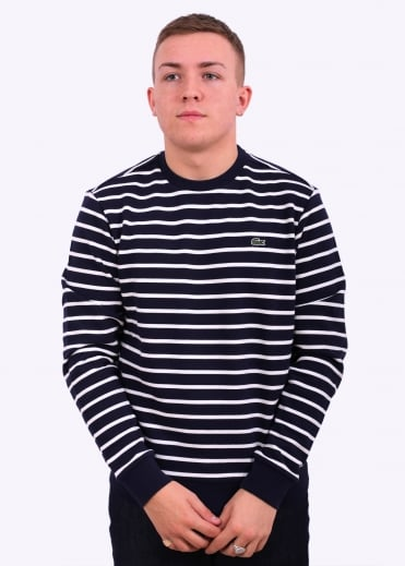 Stripe Jumper - Navy / Flour