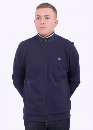 Zip Through Sweat - Navy / Blue