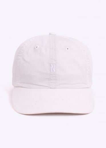 Norse Projects Light Twill Sports Cap - Ecru