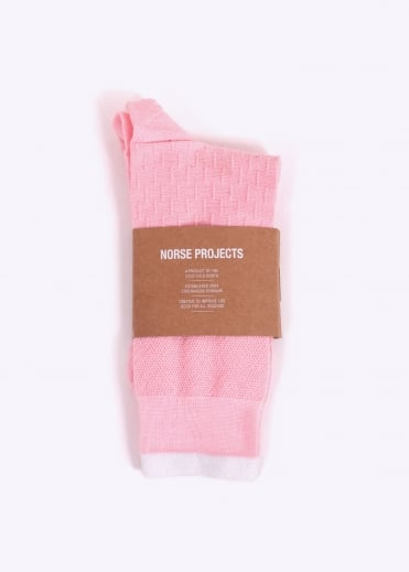 Norse Projects Bjarki Cotton Sport - Fusion Pink