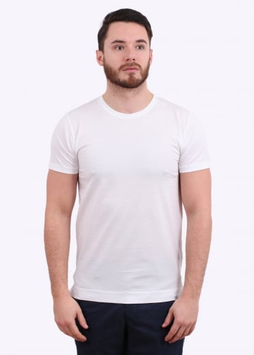 Norse Projects Esben Blind Stitch SS Tee - White