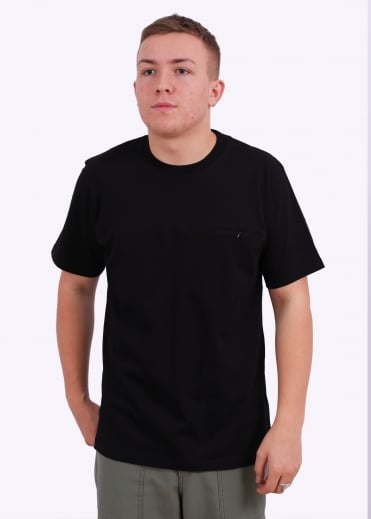 SS Reflective Pocket Tee - Black