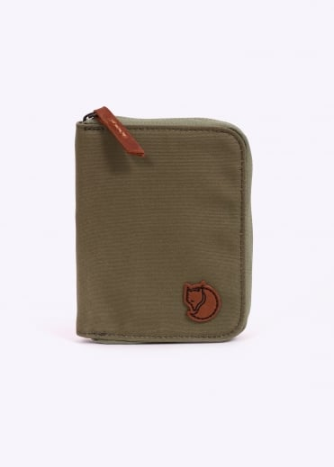 Zip Wallet - Green
