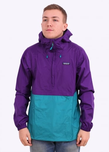 Patagonia M's Torrentshell Pullover - Purple