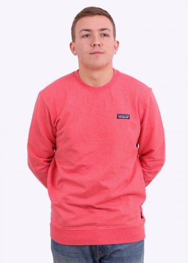 P-6 Label MW Crew Sweatshirt - Spiced Coral