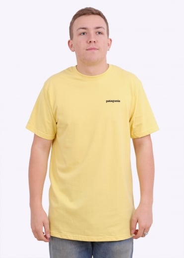 Patagonia P-6 Logo T-Shirt - Yoke Yellow