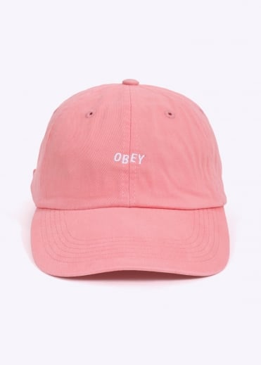Jumble Bar Hat II 6 Panel - Rose