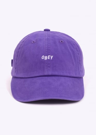 Jumble Bar Hat II 6 Panel - Violet
