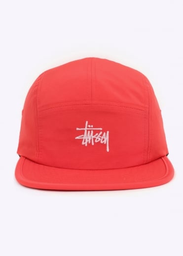 Stussy Micro Ripstop Camp Cap - Red
