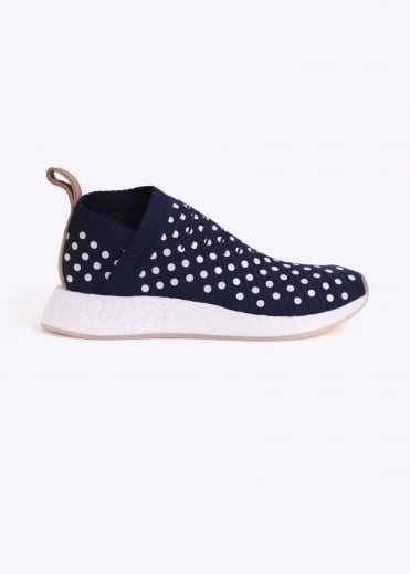 NMD CS2 - Collegiate Navy / White