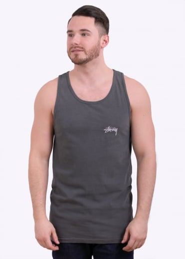 8 Ball Pigment Dyed Tank - Black