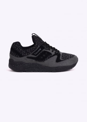 Saucony Grid 9000 Knit - Black