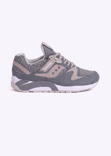 Saucony Grid 9000 Knit - Grey