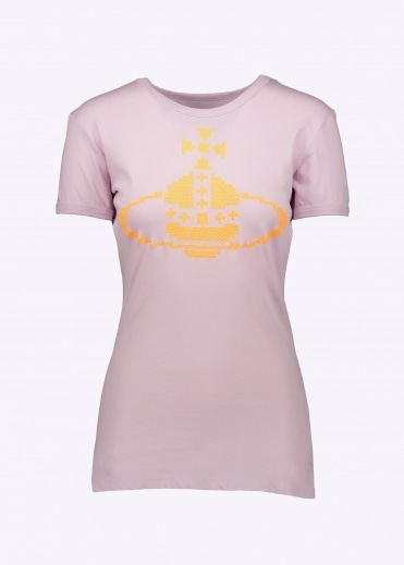 Anglomania Embroidered Orb T-Shirt - Lilac