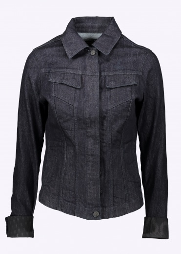 New Weave Jacket - Blue Denim