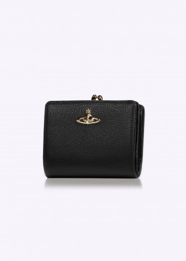 Vivienne Westwood Accessories Balmoral Coin Pocket Wallet - Black