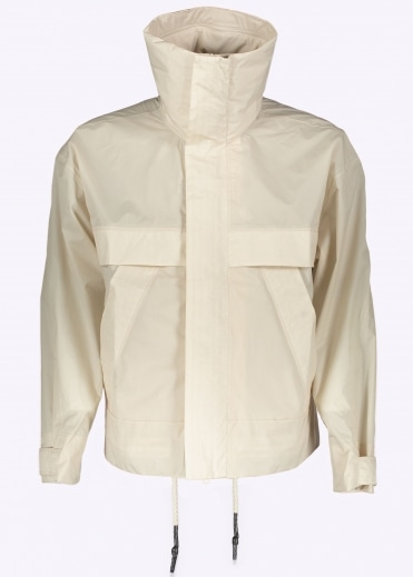 Adidas Originals Apparel Day One Bonded Windbreaker - Clear Brown