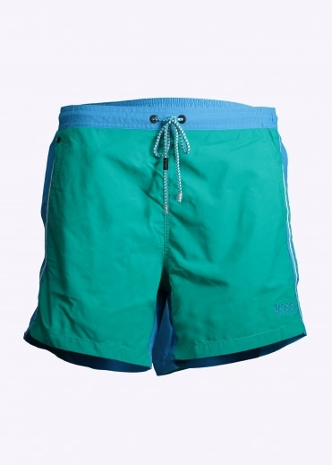 Snapper Shorts - Blue / Green